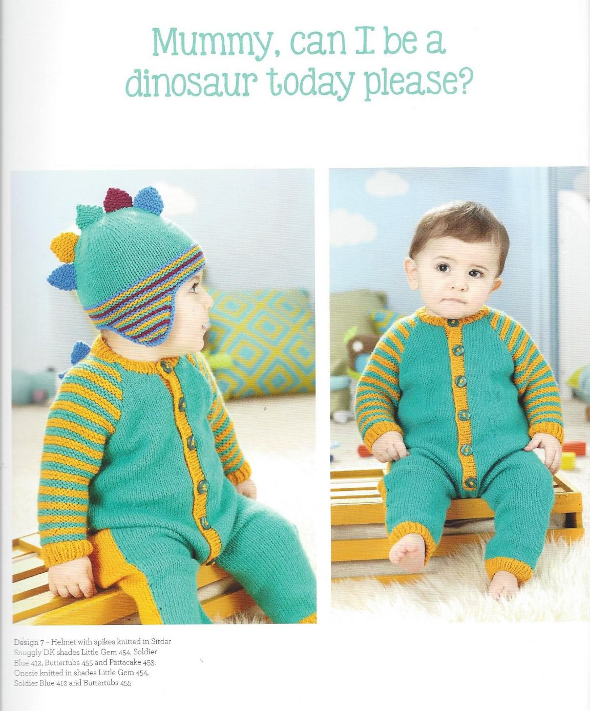 Sirdar Book 487 - Nursery Knits for Boys - Sirdar Snuggly Baby DK